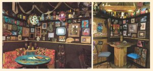 The interior of a Tiki bar build by a Cal Fire assistant chief by on-duty employee without authorization is seen in an undated photo from the California State Auditor's report released July 24, 2018.
