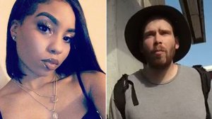 Nia Wilson, left, is seen in an image posted to her Facebook page in December 2017. At right, John Lee Cowell is seen in a bodycam image from an interaction with authorities on July 18, 2018, released by the BART Police Department on July 23, 2018.