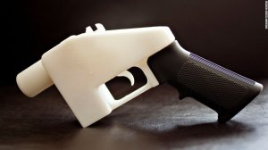 A settlement between gun-rights activists and the government has cleared the way to post plans for 3-D printed guns online. (Credit: Marisa Vasquez via CNN)