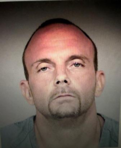 Lawrence Huhne, 40, is seen in a photo released July 9, 2018, by Simi Valley police.