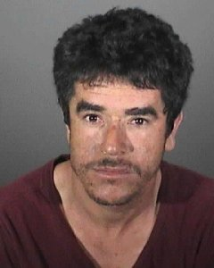 Alejandro Alvarez is seen in a booking photo provided by the Whittier Police Department on July 11, 2018.