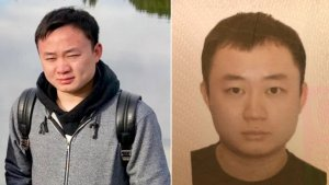 """Ruochen """"Tony"""" Liao, 28, is seen in undated photos released by the FBI on Aug. 20, 2018."""