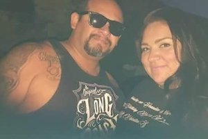 Victor Herrera is seen with a family member in an undated photo posted to a GoFundMe page.