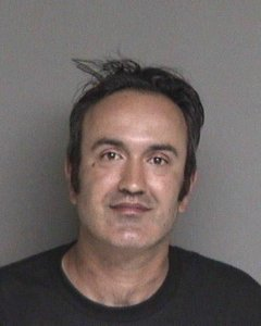 Farzad Fazeli is seen in a booking photo released Sept. 11, 2018, by the Alameda County Sheriff's Office.