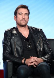 Actor Dylan McDermott speaks onstage during the 2018 Winter Television Critics Association Press Tour at The Langham Huntington in Pasadena on Jan. 4, 2018. (Credit: Frederick M. Brown / Getty Images)