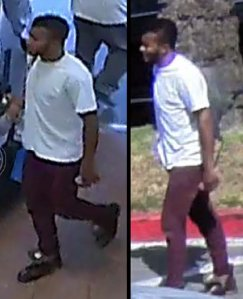 Authorities released these photos of a male who they are looking to speak with in connection with an infant abandoned at a Walmart in Lakewood on Oct. 8, 2018.