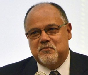 James Sandoval, a former UC Riverside vice chancellor, is seen in a photo provided by the university to the Los Angeles Times.