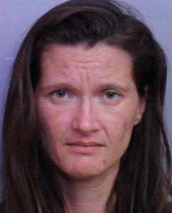Rachel Fidanian is seen in a booking photo released by the Polk County Sheriff's Office.