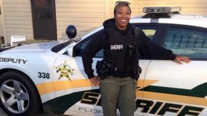 Florence County Sheriff's Deputy Farrah Turner is seen in an undated photo posted to a GoFundMe page.
