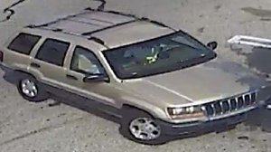 The person of interest was seen driving this vehicle, investigators said.