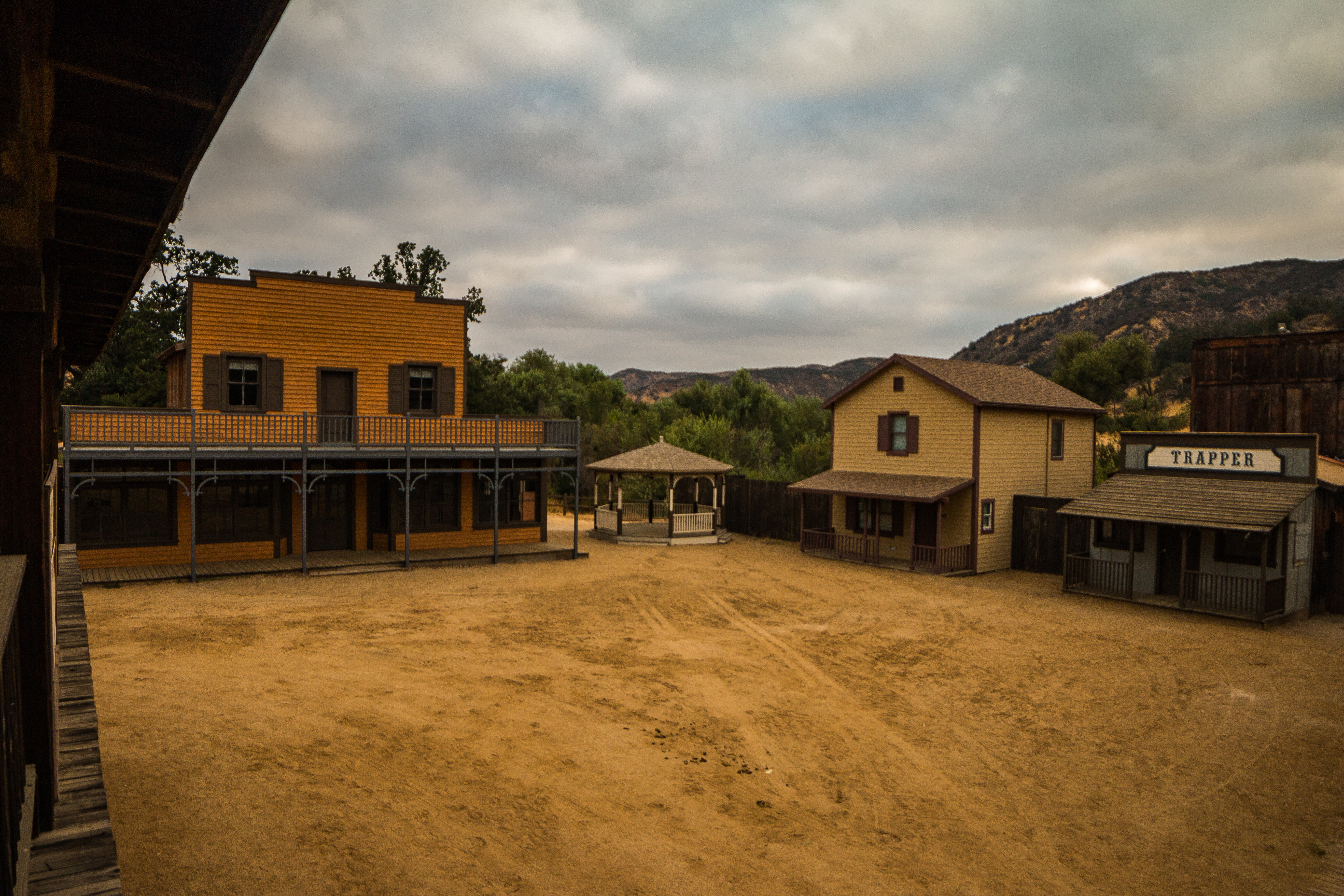 An Aug. 16, 2017, photo shows part of the Western Town at Paramount Ranch. (Credit: National Park Service)