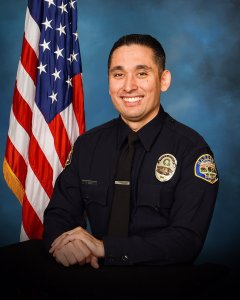 Gardena Police Officer Toshio Hirai is seen in an undated photo released by the Police Department on Nov. 15, 2018.