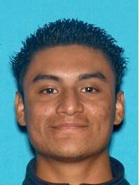 Saul Franco, 20, is seen in a driver's license photo released Nov. 1, 2018, by the Fontana Police Department.