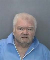 Michael Carl Hallgren, 64, is seen in a booking photo released Nov. 20, 2018, by Anaheim police.