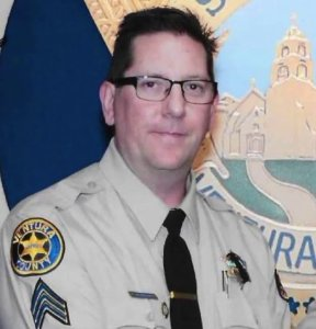 Sgt. Ron Helus is seen in an image from the Ventura County Sheriff's Office.