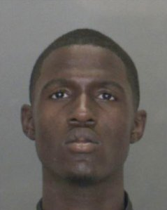 Tyrese Williams Lawrence is seen in a booking photo released Nov. 26, 2018, by the San Bernardino County Sheriff's Department.