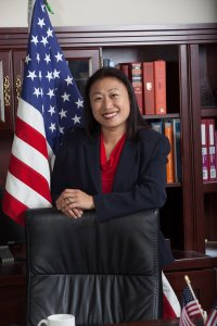 State Sen. Janet Nguyen is seen in an undated photo posted to her campaign website.