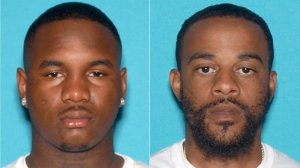 Dijon Cooper, 21, and Nye Lee, 31, pictured in photos released by the Los Angeles Police Department on Dec. 1, 2018.