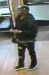 Tustin police released this surveillance image of a man suspected in a robbery at a McDonald's there on Dec. 10, 2018.