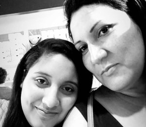 Kelsey Meza, left, and her mom, Cecilia Meza, are seen in an undated photo posted to a GoFundMe page.