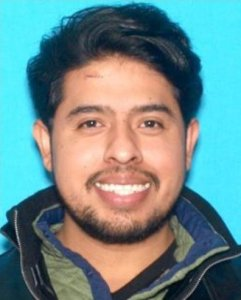 Nimrod Perez Guerrero is seen in a driver's license photo released by the Los Angeles County Sheriff's Department on Dec. 5, 2018.