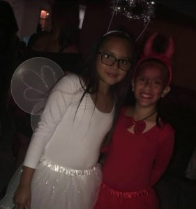 Ashley Gregorio, left, and Delila Rangel are seen in an undated photo provided by family.