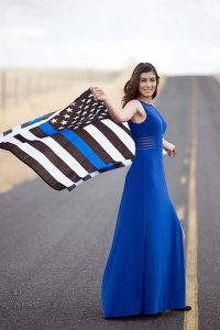 Slain Davis Police Officer Natalie Corona is seen in a photo posted to her Facebook page on Oct. 21, 2016.
