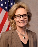 Secretary of the California Government Operations Agency Marybel Batjer is seen in this portrait from GovOps.ca.gov.