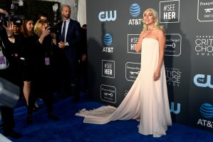 Lady Gaga attends the 24th annual Critics' Choice Awards at Barker Hangar on January 13, 2019 in Santa Monica, California. (Credit: Frazer Harrison/Getty Images)