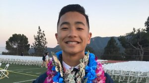 Noah Caleb Domingo, seen in this photo provided by his family, died after participating in a rush week event for his fraternity at UC Irvine.