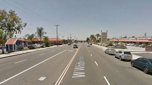 The 2400 block of West Whittier Boulevard in La Habra, as seen in a Google Street View image in May of 2017.