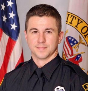 Mobile Police Department Officer Sean Tuder, 30, who was shot and killed in the line of duty on Jan. 20, 2019, pictured in a photo released by Mobile, Alabama Mayor Sandy Stimpson.