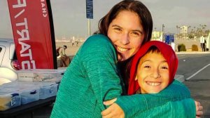 Blanca Ramirez, left, and her brother Jordan are seen in a photo provided by the family.