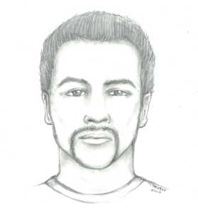 The Anaheim Police Department released this sketch on Jan. 15, 2019.