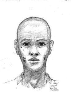 Riverside Police released this sketch of an attempted kidnapping suspect.