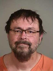 Tad Cummins is seen in a booking photo released by the Siskiyou County Sheriff's Office.