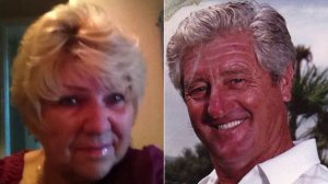Dahlia Marlies Leber Anderson and Roy Lee Anderson are seen in undated photos provided to KTLA.
