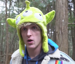 Logan Paul is seen in a screenshot from a video he posted to YouTube. (Credit: YouTube)