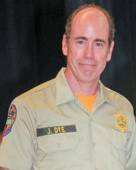 Jeff Dye, a fallen member of the Ventura County's Sheriff's Search and Rescue Team, is seen in this photo released by the agency on Feb. 2, 2019.