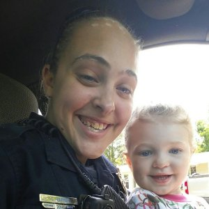 Cassie Barker is seen in a Facebook photo with her daughter.