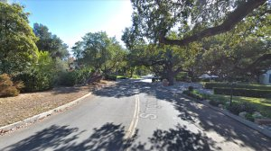 The 1100 block if Singing Wood Drive in Arcadia, as pictured in a Google Street View image in December of 2017.