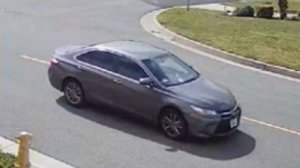 The suspect vehicle is seen in a photo released by the Sheriff's Department.