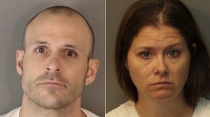 Corona police released these photos of Bryce McIntosh, left, and Jillian Godfrey, right.