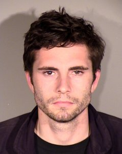 Peter Corso, 25, is seen in a booking photo released by the Simi Valley Police Department on March 6, 2019.