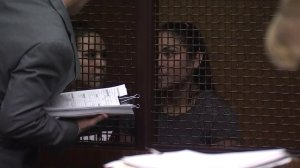 Christina Luna, left, and Monica Gomez appear for their arraignment in a San Fernando courtroom on March 25, 2019. (Credit: KTLA)