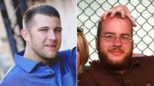 Melvin and Bennett Riffel are seen in family photos. (Credit: KRCR via CNN)