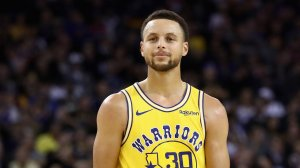 Stephen Curry of the Golden State Warriors stands on the court during their game against the Washington Wizards at ORACLE Arena on October 24, 2018 in Oakland, California. (Credit: Ezra Shaw/Getty Images)