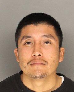 Filogencio Mendoza Dias, 24, of Santa Maria, pictured in a photo released by the Santa Barbara County Sheriff's Office following his arrest on April 23, 2019.