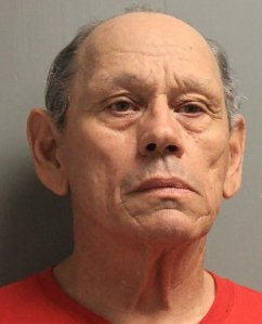 Harvey Joseph Fountain is seen in a booking photo released by the Rapides Parish Sheriff's Office.