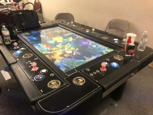 An illegal gaming device is seen during a raid in Pomona on April 18, 2019. (Credit: Pomona Police Department)